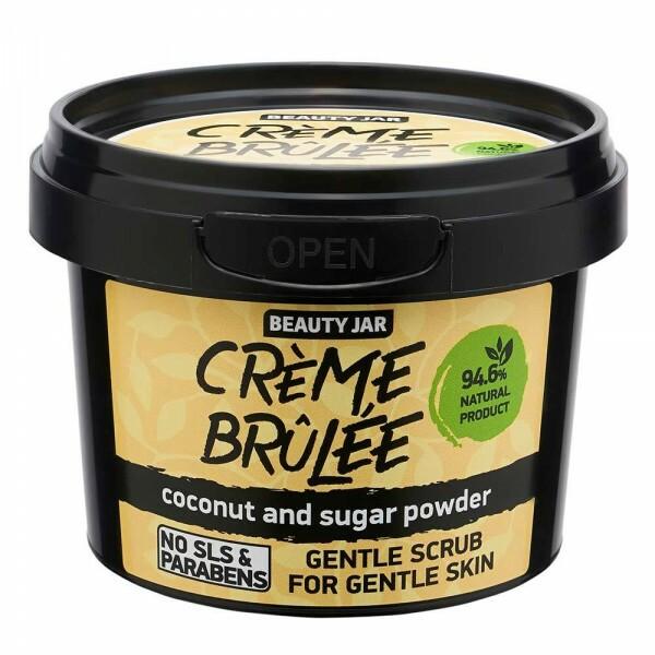 Exfoliant Visage Peau Sensible - Crème Brûlée