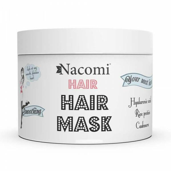 Masque Lissant Cheveux aux Protéines de Riz et Cachemire