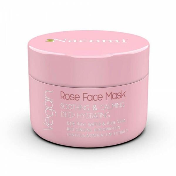 Masque Visage Naturel - Eau de Rose Hydratante