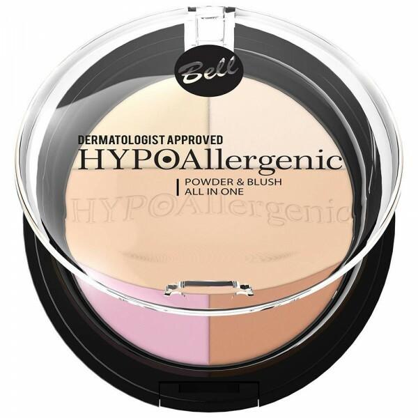 Poudre & blush hypoallergénique vue de face