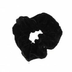 Chouchou Velours Noir vue 1