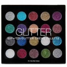 Palette 20 Fards à paupières Glitter