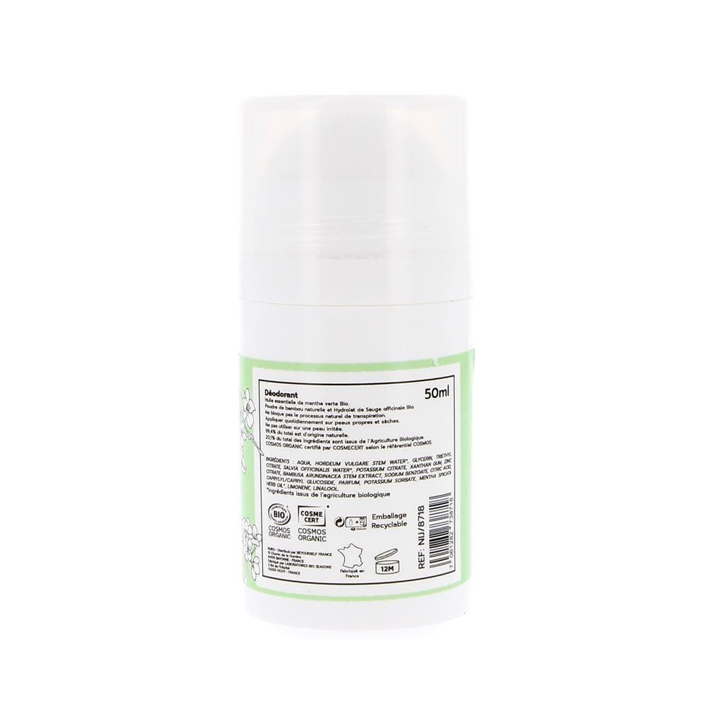 Déodorant Bio à la Menthe Verte