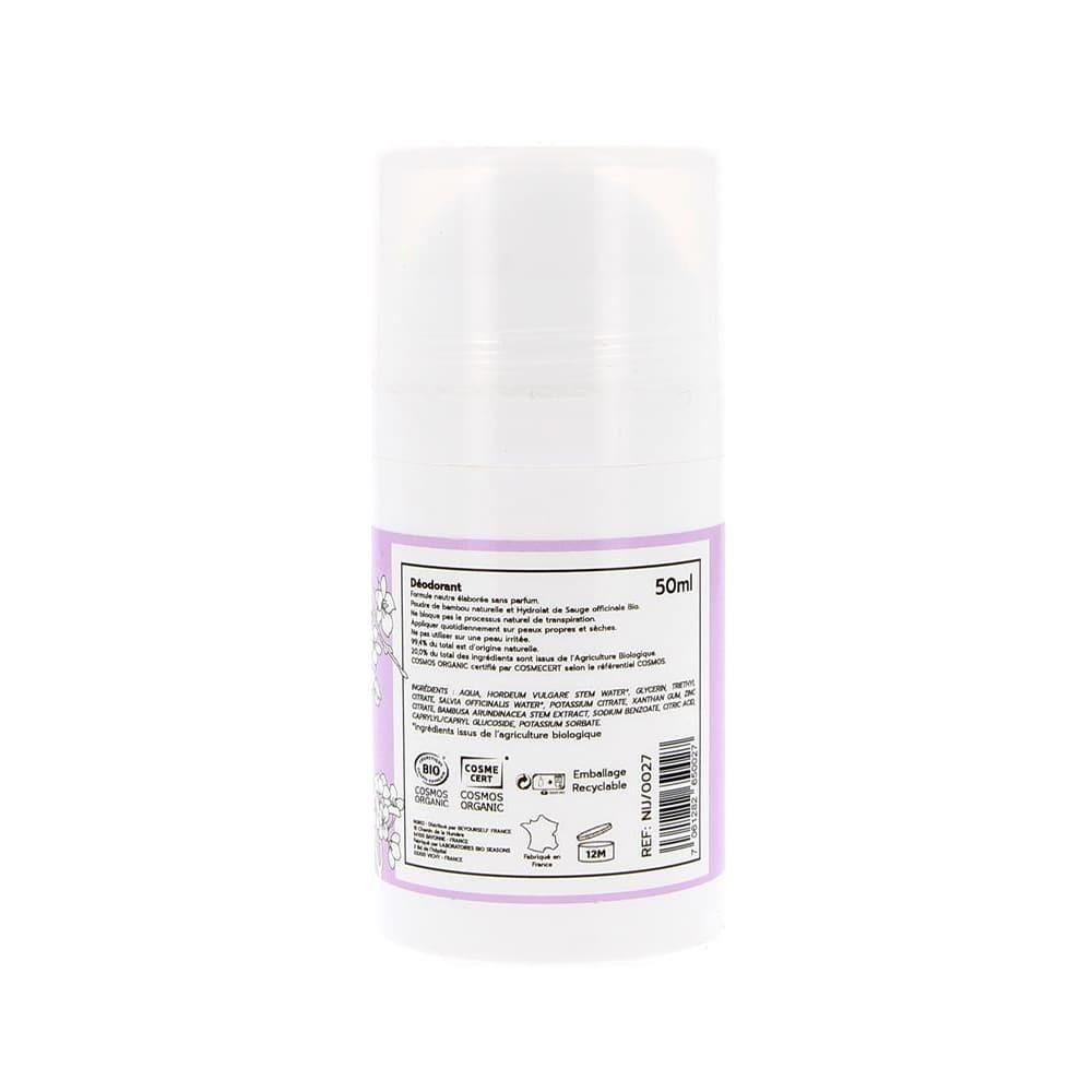 Déodorant Bio Sans Parfum