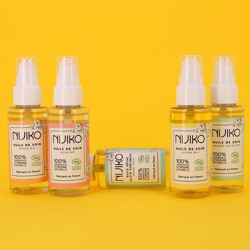 Huile de Soin Bio Multi-usages au Ricin