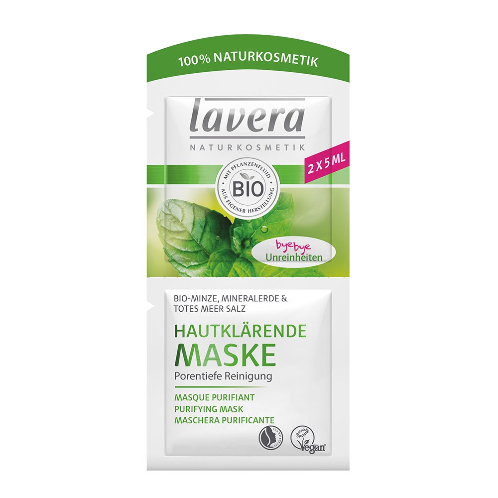 Masque Purifiant Menthe Bio