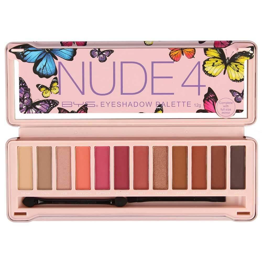 Palette Make up Artist Nude 4 vue face