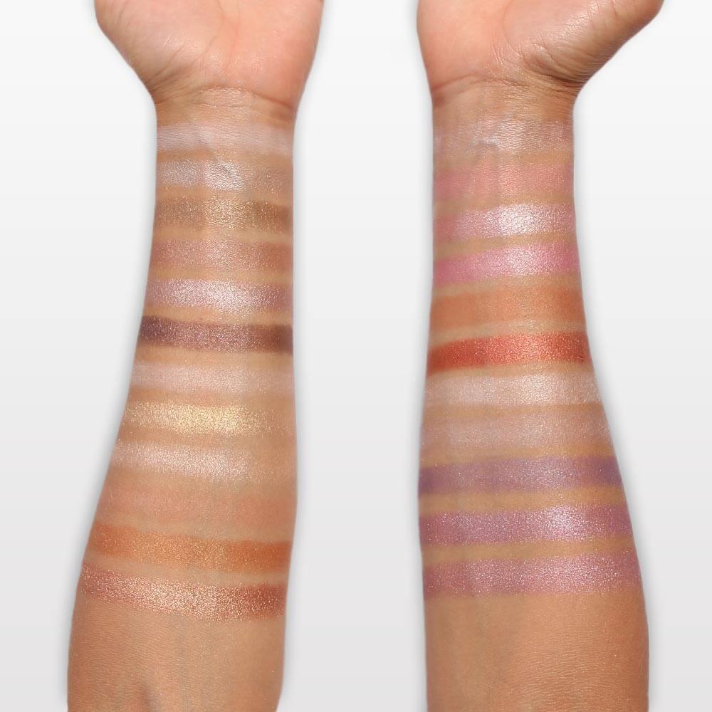 Palette d'Ombres 48 Couleurs Mat & Irisé
