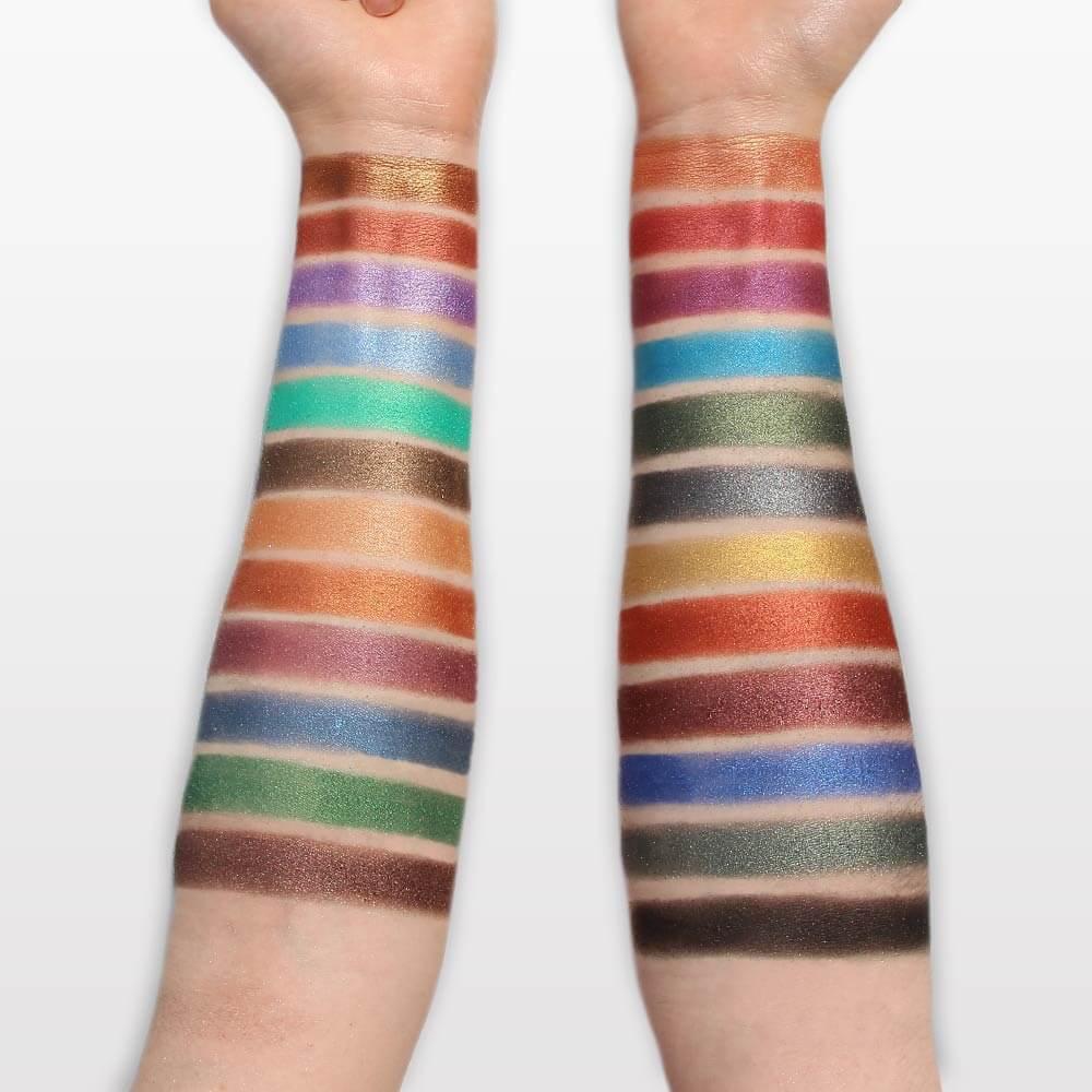 Palette d'Ombres 48 Couleurs Métallique