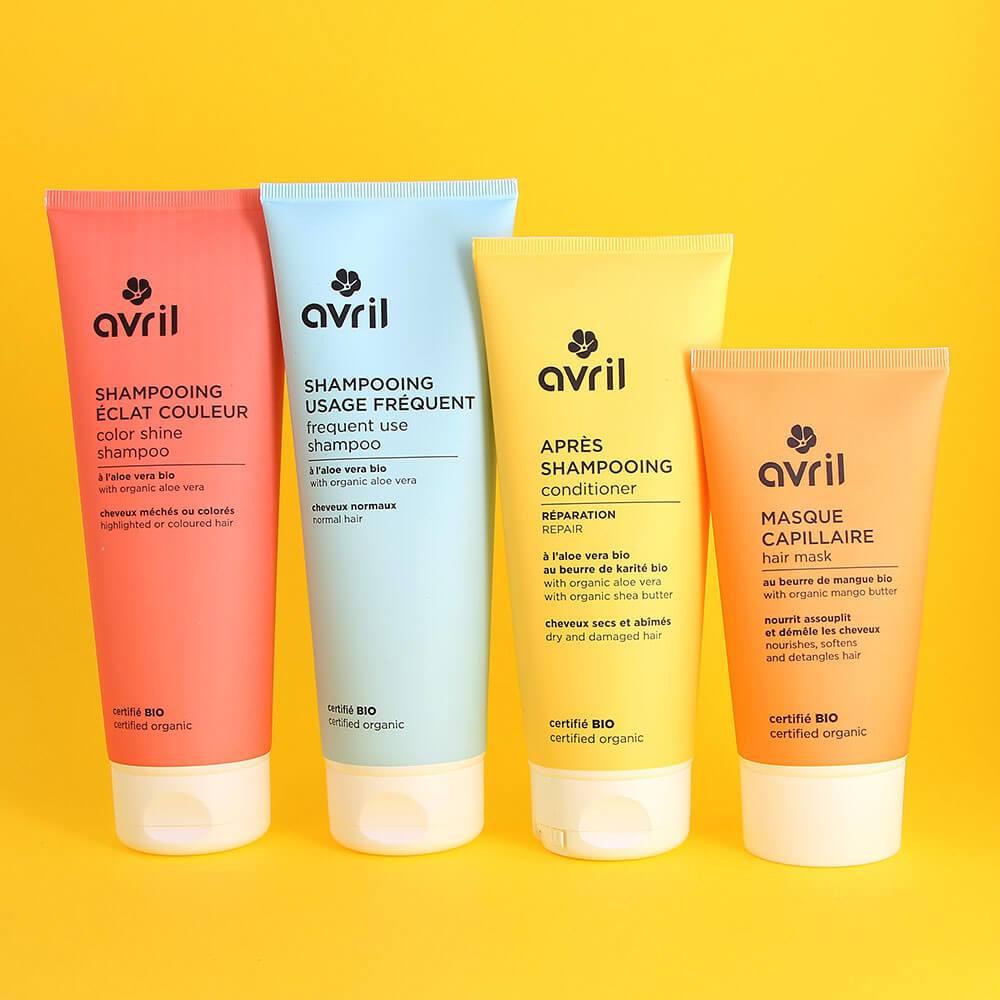 Shampoing Bio pour Cheveux Colorés